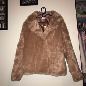 Charlotte Russe fuzzy jacket